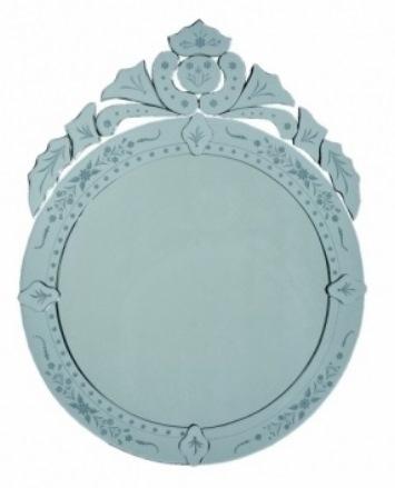 24 Espelho Veneziano redondo