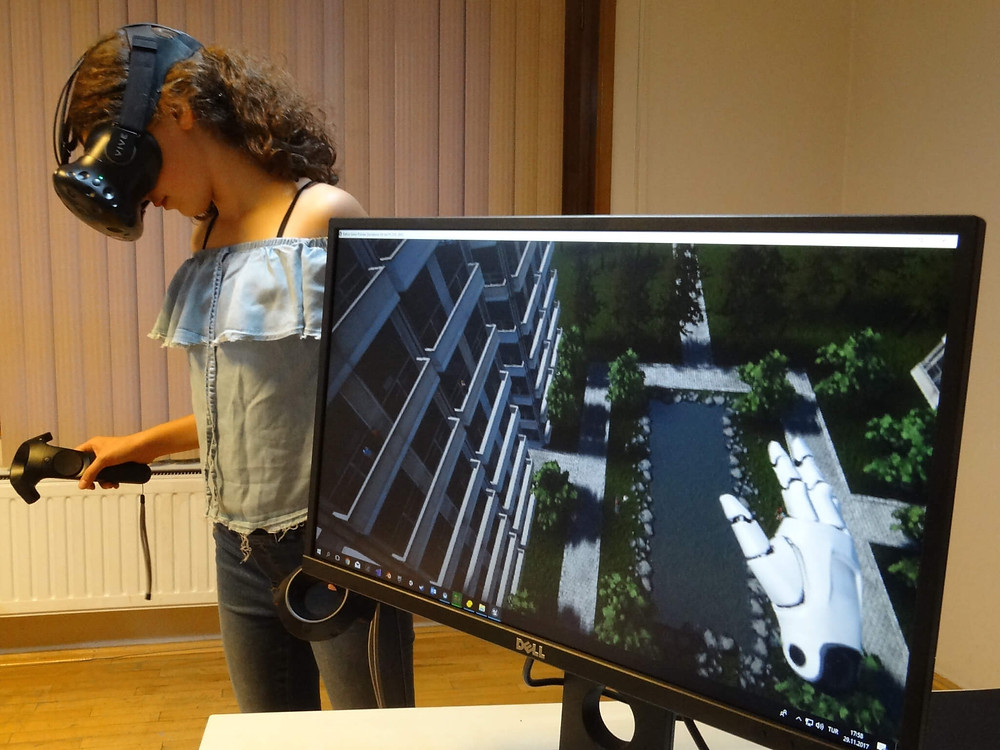 """Ideasis, an Ankara-based virtual-reality firm, obtained a Unicef grant to develop """"exposure therapy"""" scenarios for phobias like the fear of heights."""