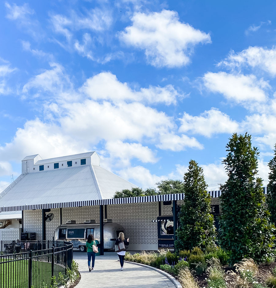 food trucks at the silos, Magnolia Market and Silos trip planning information