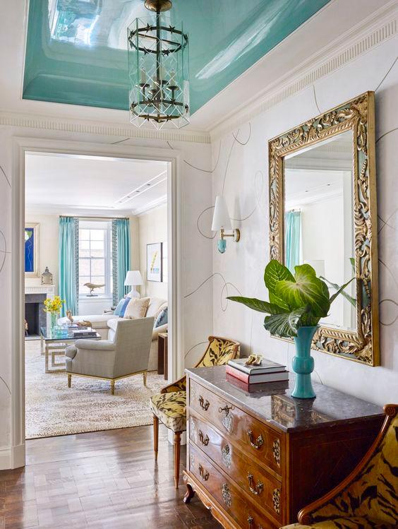 ceiling lacquer interior design
