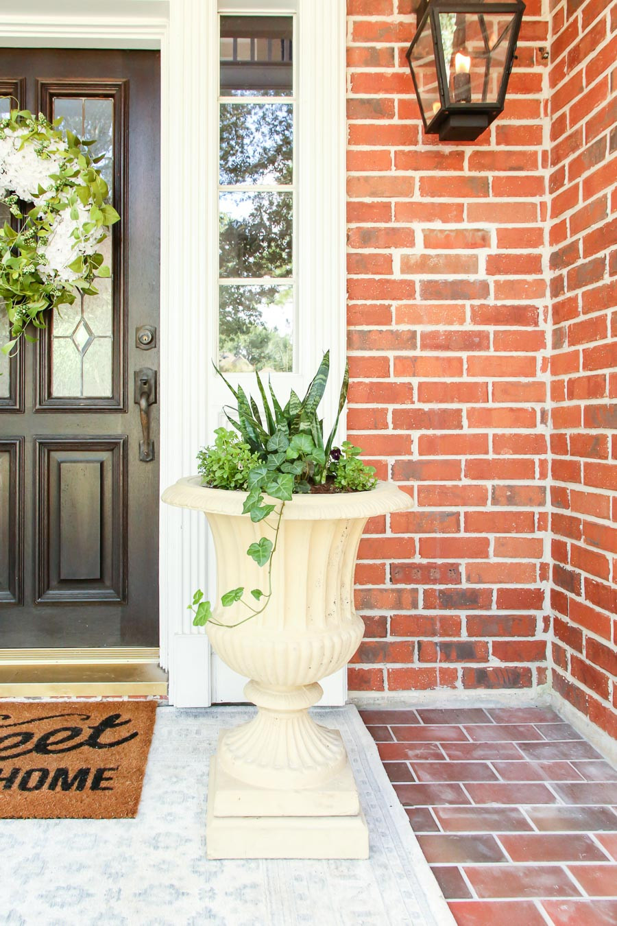 front porch urn