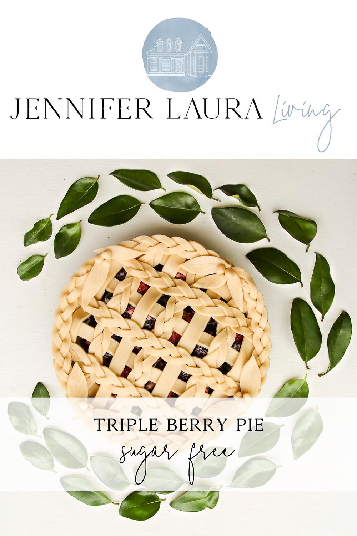 sugar free triple berry razzleberry pie recipe