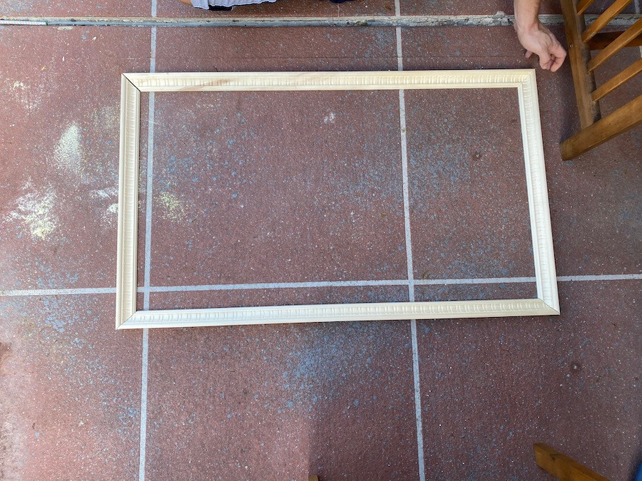 building a frame with molding
