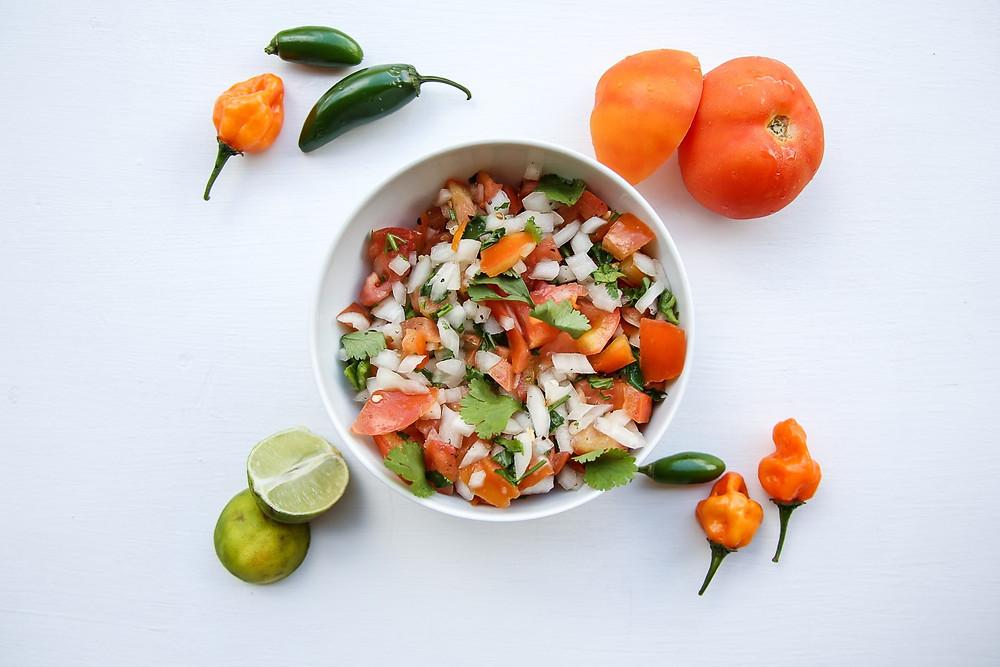 spicy pico recipe jalapeno and habanero