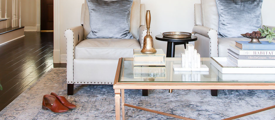 How to update bad brass & rescuing our coffee table