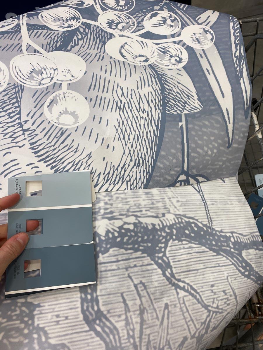 Valspar dusty blue paint colors