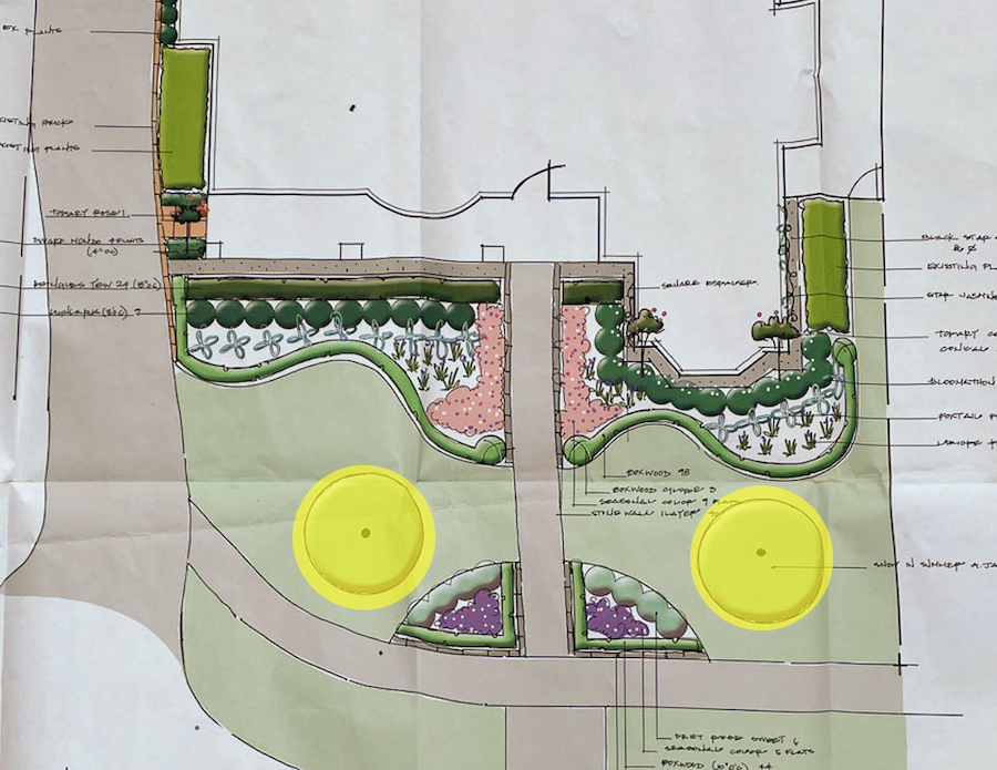 tips for working with a landscape architect