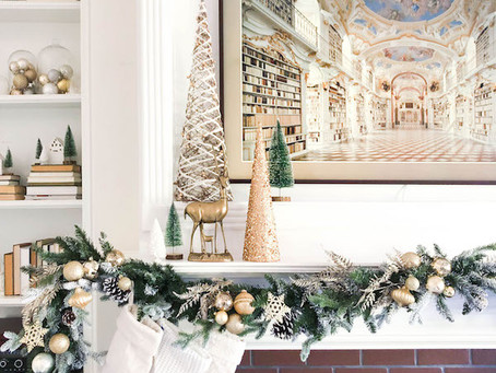 Fun Friday- Christmas, an update on Lincoln's room, and Kelly Wearstler