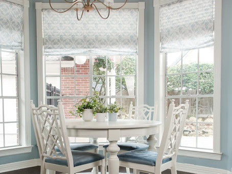 Fun Friday- a new rug in the breakfast nook