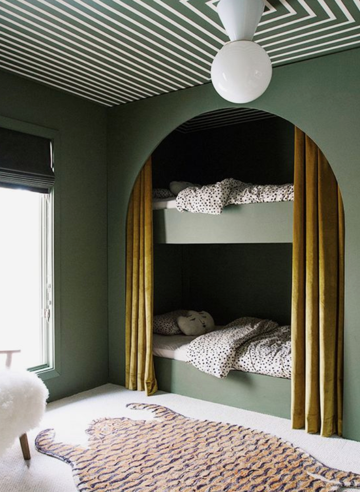 built in bunk bed inspiration