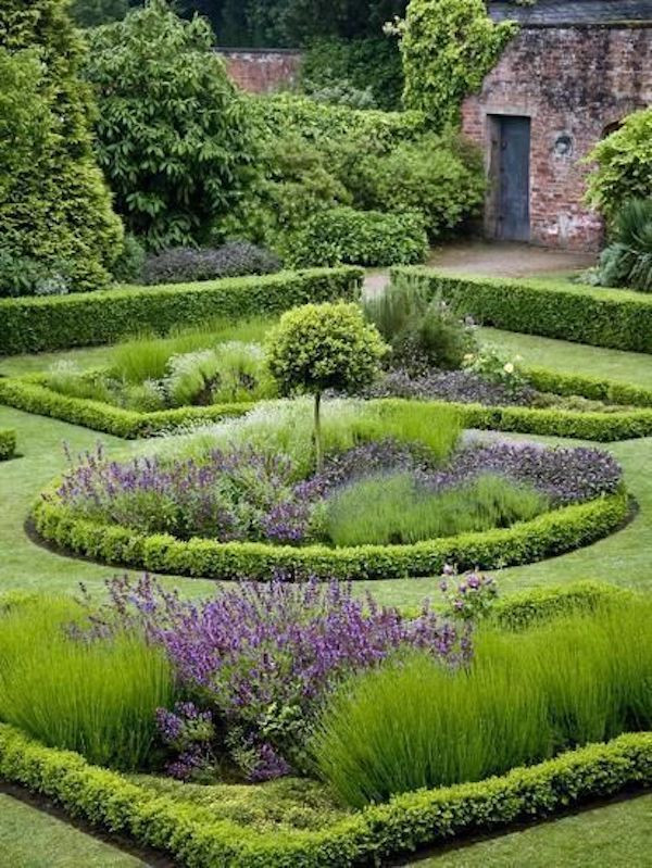 tips for working with a landscape architect english garden