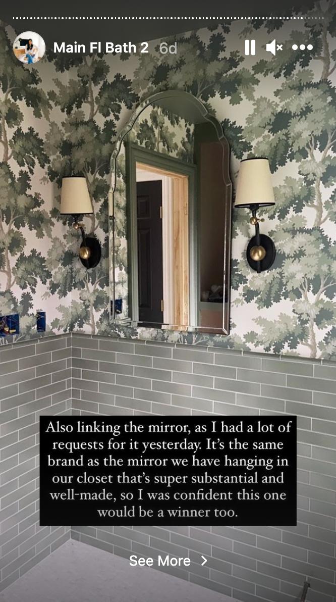 Erin Kestenbaum | grandmillenial style bathroom