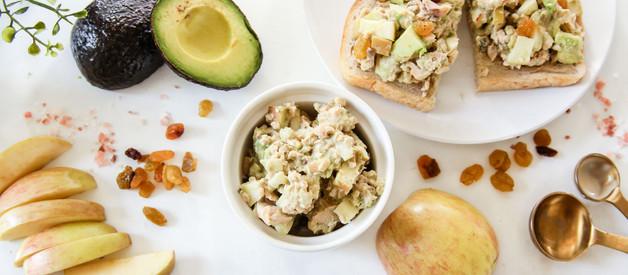 Apple and Avocado Salmon Salad