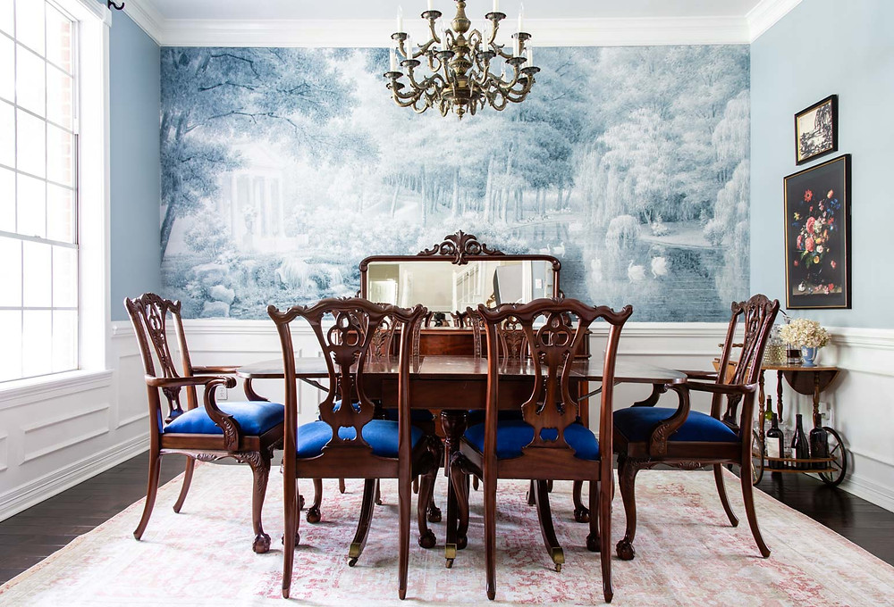 bridgerton inspired dining room