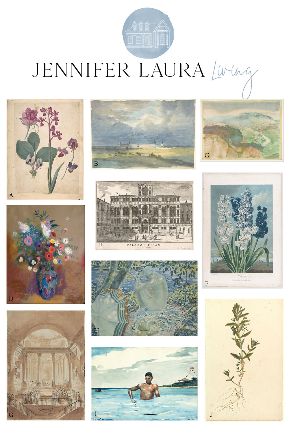 free vintage and antique art printables