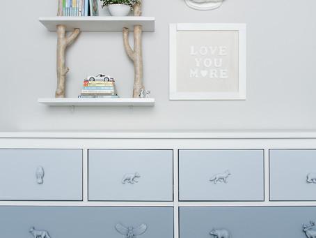 DIY Letter Art (Pottery Barn Dupe)