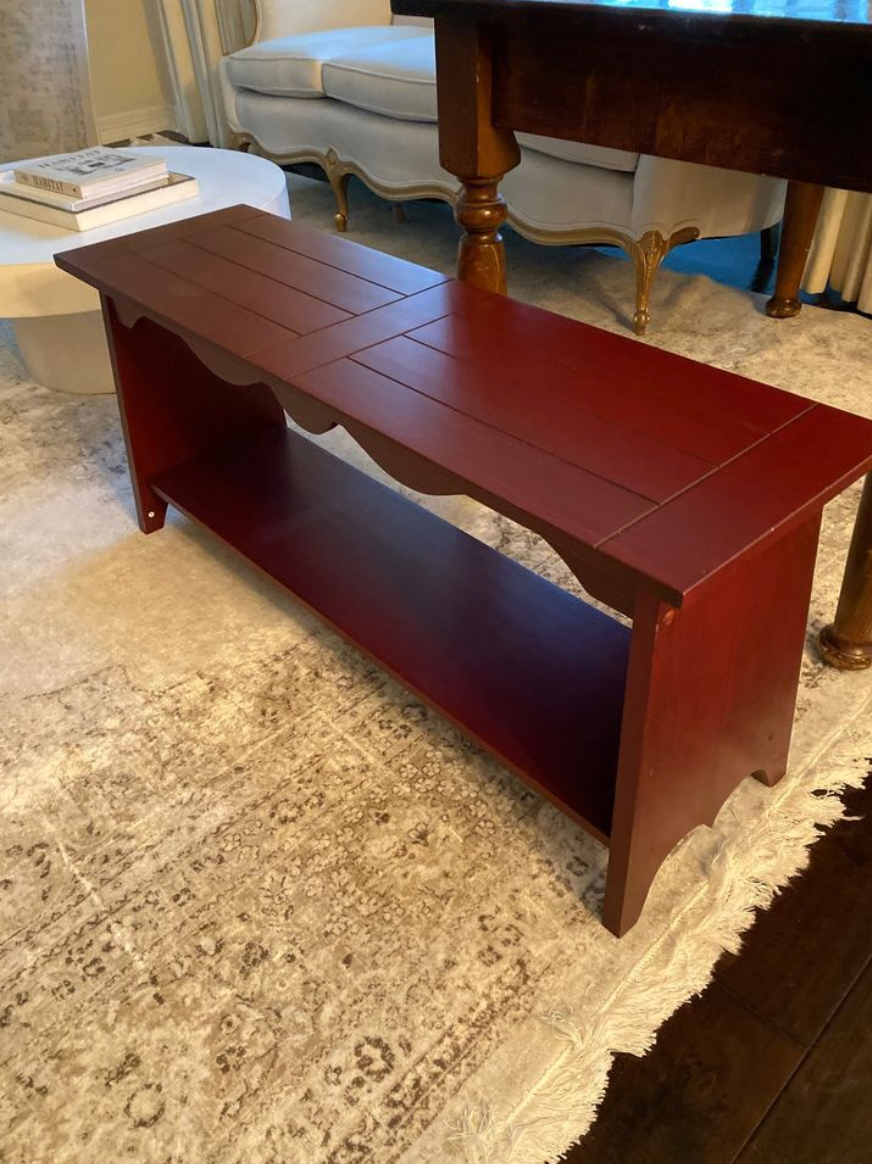 red bench facebook marketplace