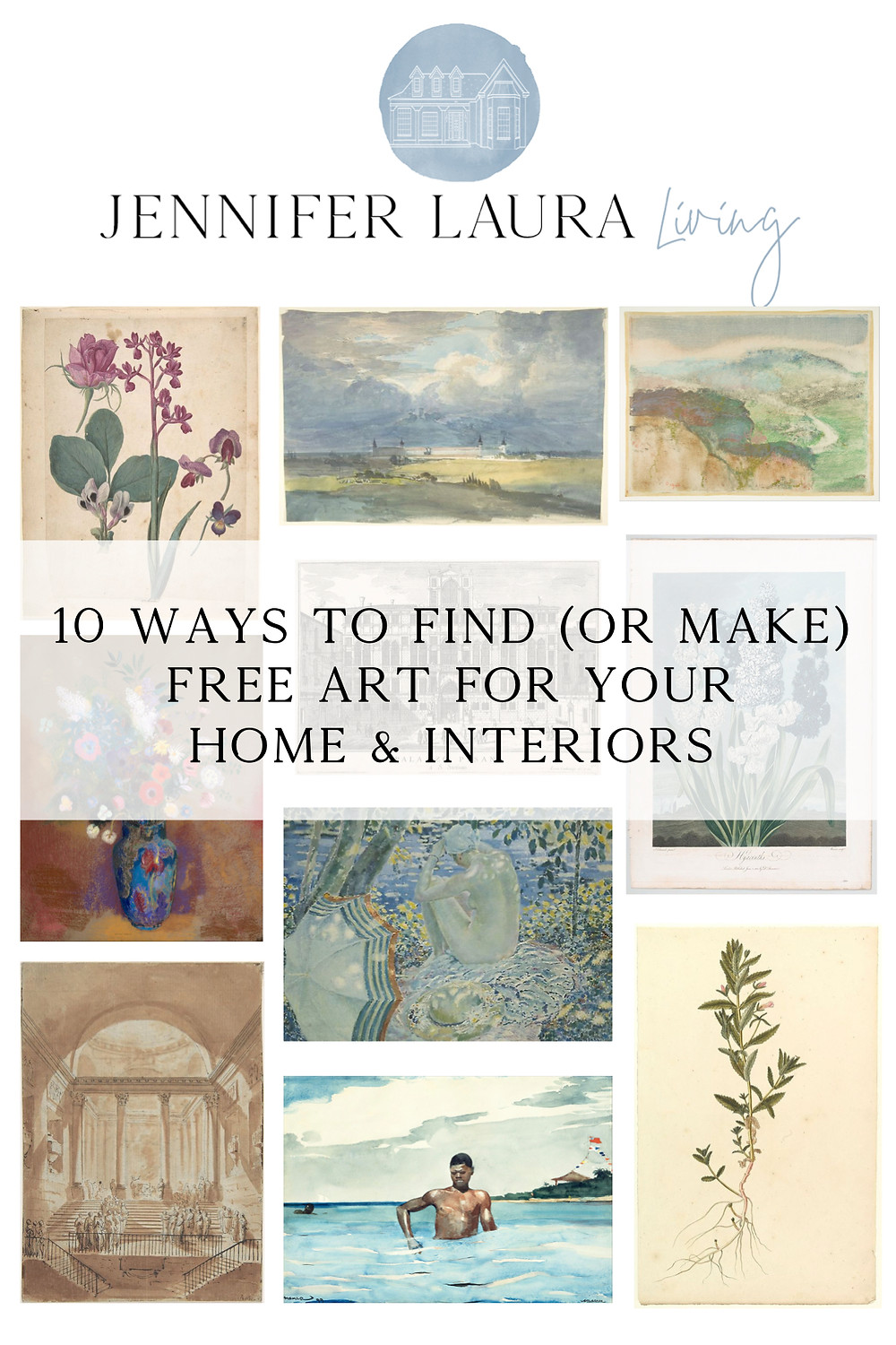 how to find or make free art for your home and interior design