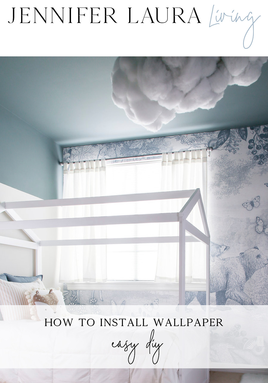 How to hang wallpaper yourself DIY