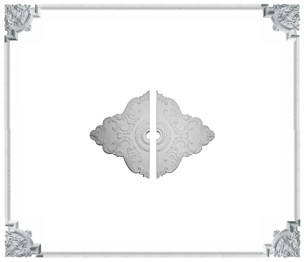 ceiling molding design plan