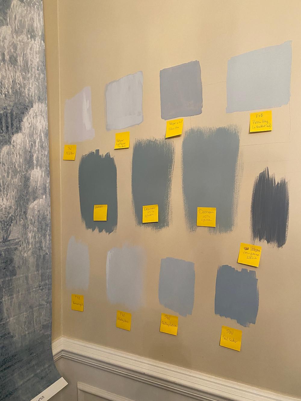 the perfect blue paint color