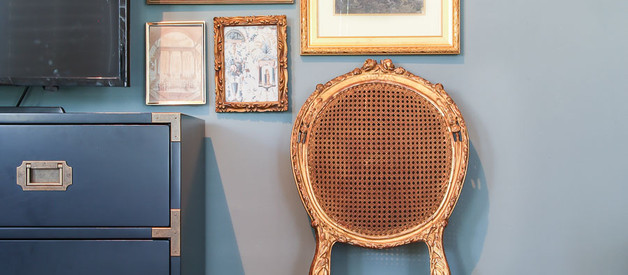 Fun Friday- a gallery wall, estate sales, and TBG