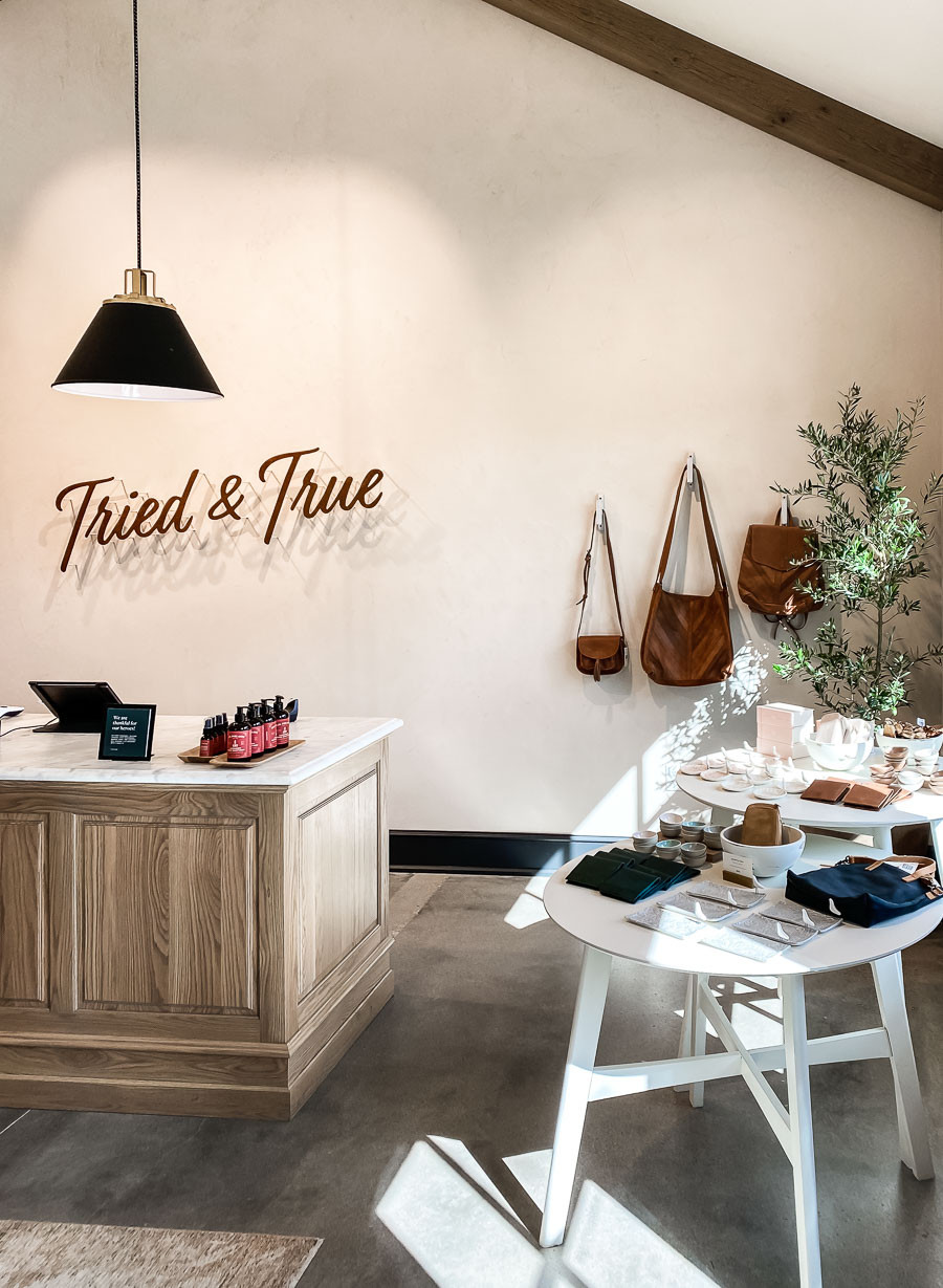 Tried and True, Magnolia jewelry and bag store, Magnolia Market and Silos trip planning information, how to plan a trip to magnolia