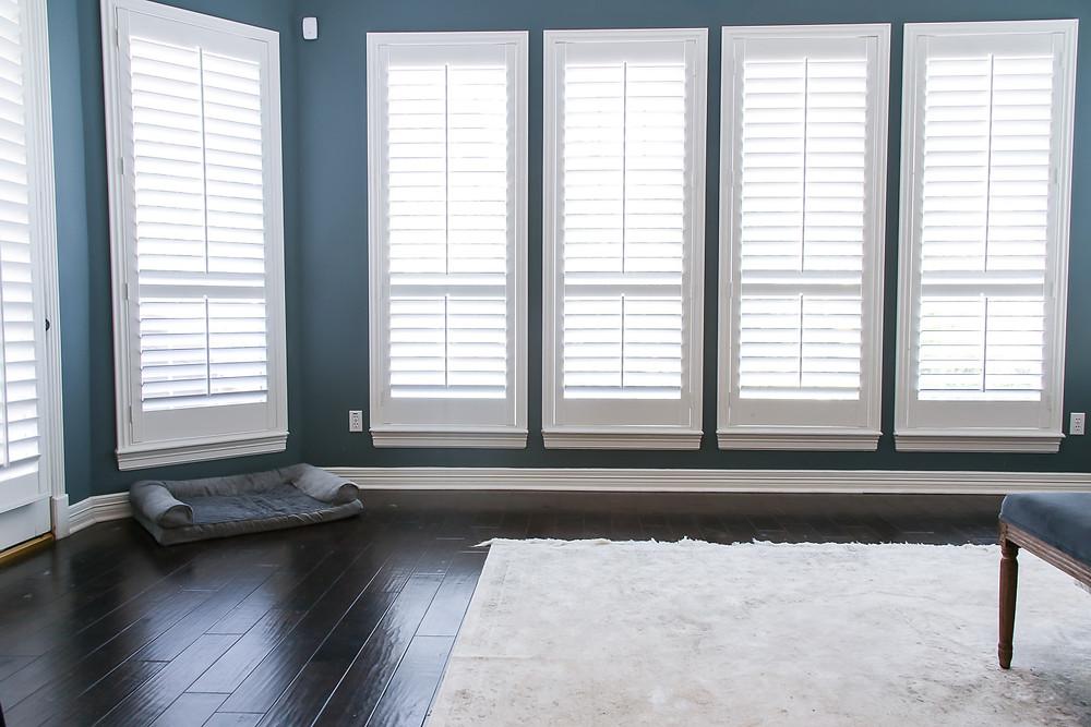 large bay window