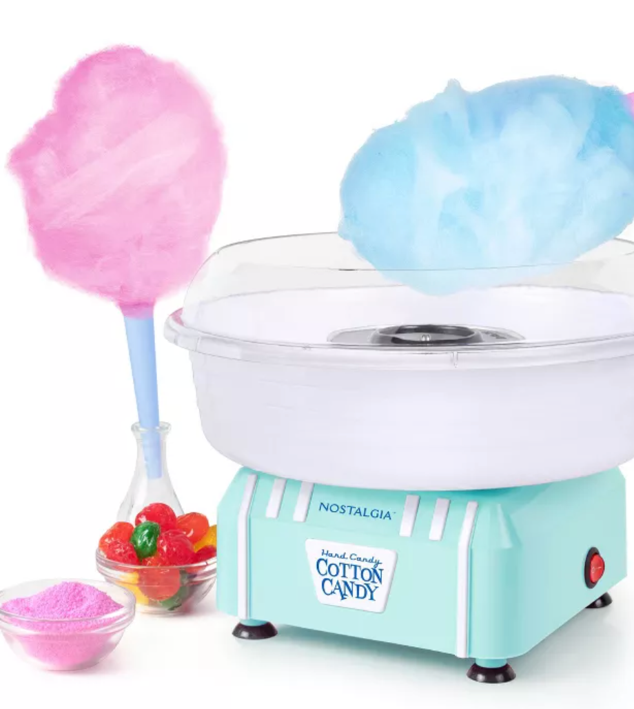 at home summer camp- make your own cotton candy