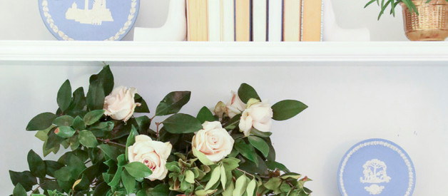 Easy Flower Arranging with grocery store flowers and yard clippings