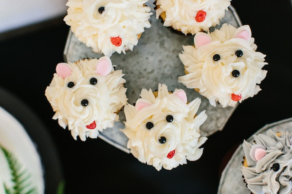 Puppy Dog Birthday Party Ideas pupcakes