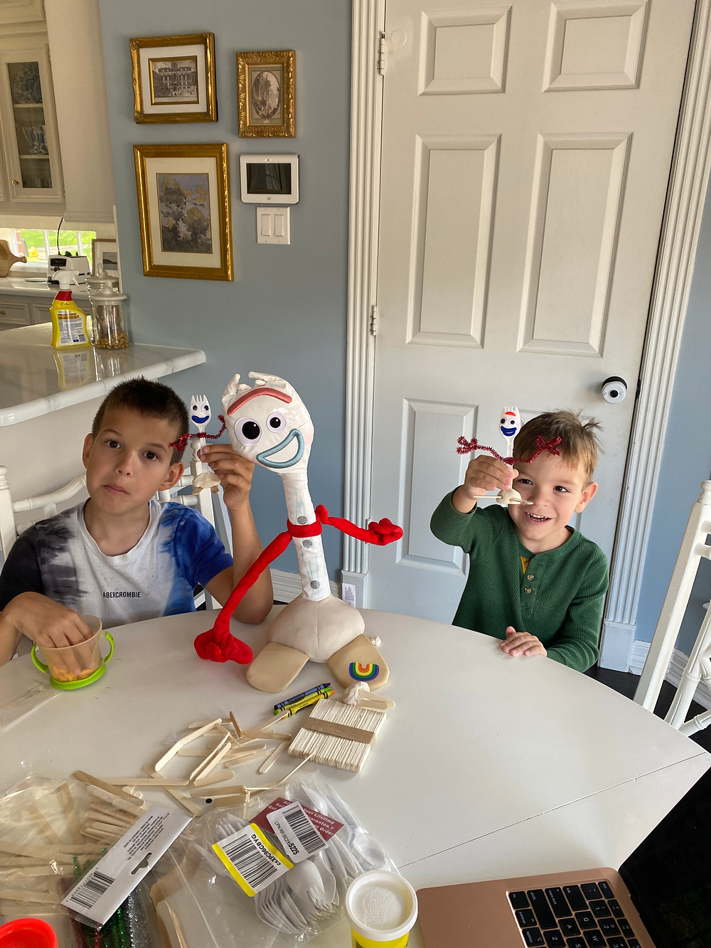 at home summer camp- fun ideas to do with kids this summer