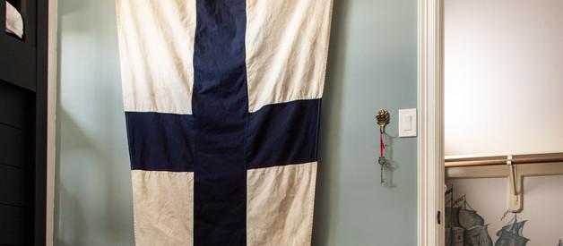DIY Antique Distressed Flag