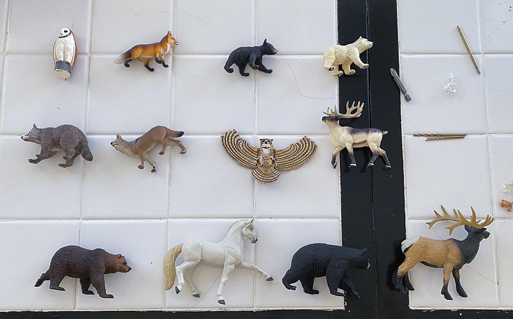 DIY animal drawer pulls and knobs