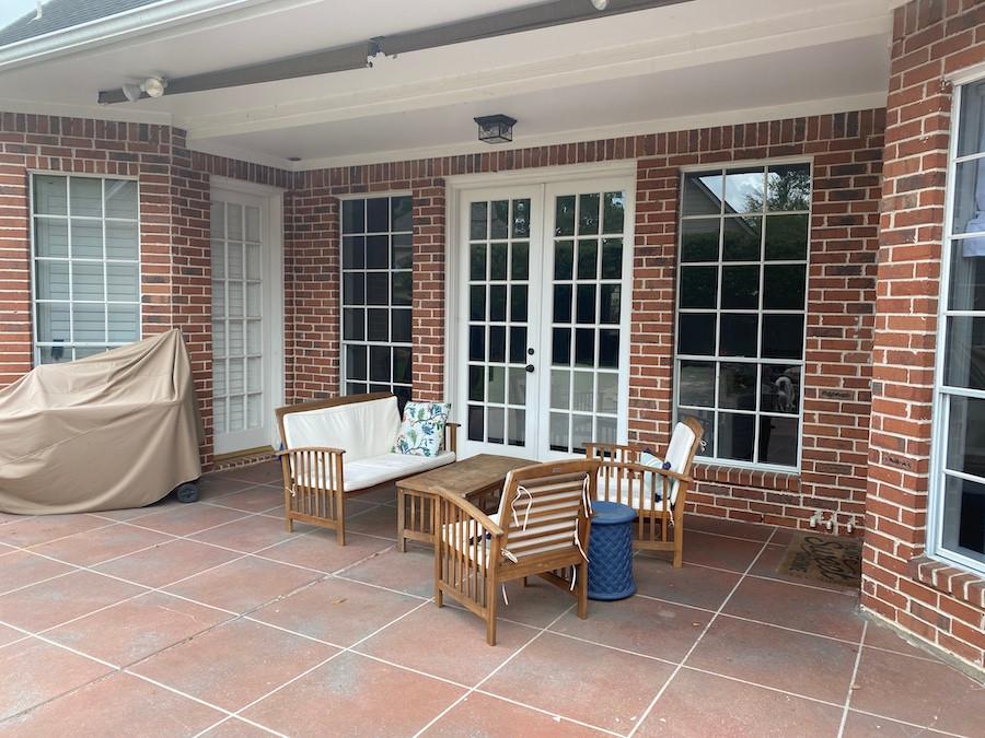 Carolina 4-piece Outdoor Acacia Sofa Set by Christopher Knight Home - Natural