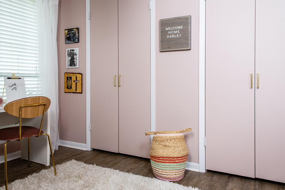 tween girl dreamy pink cloud room