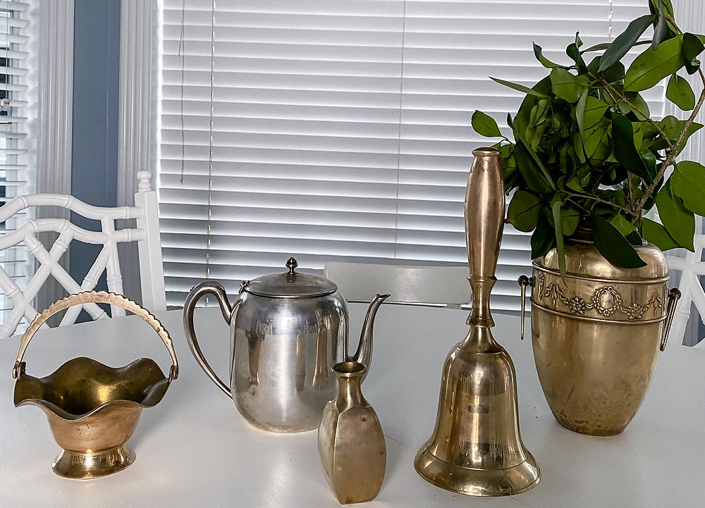 how to shine up brass and silver