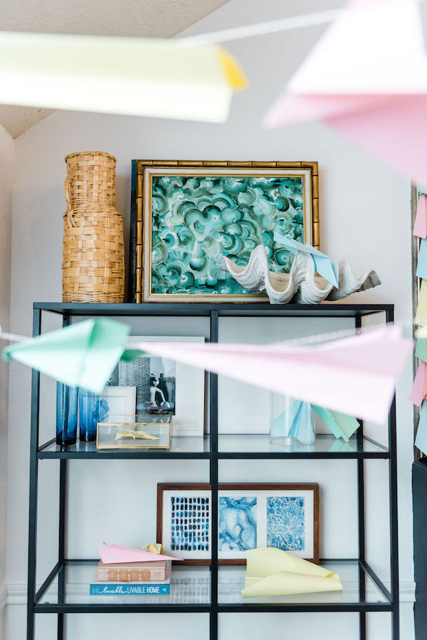 paper airplane kid party ideas
