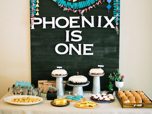 Phoenix's First Birthday- Cowboys and Indians Birthday Party