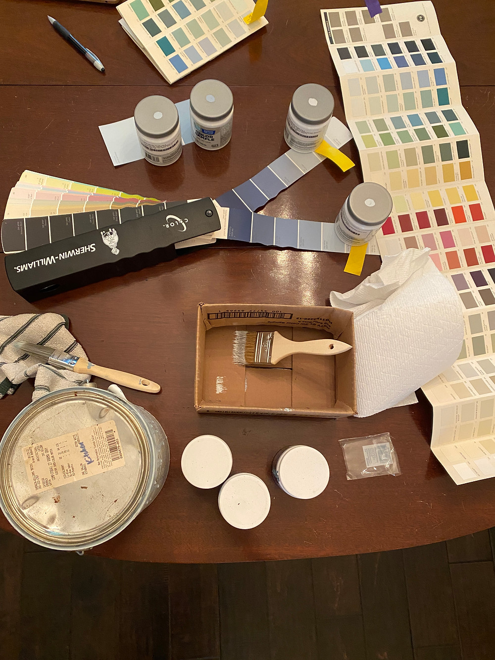 farrow and ball paint deck, sherwin williams paint deck