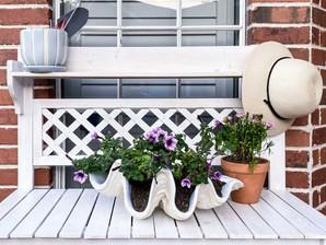 Backyard Makeover- gardening area progress!