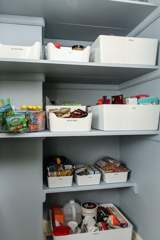 pantry organization tips for deep shelves