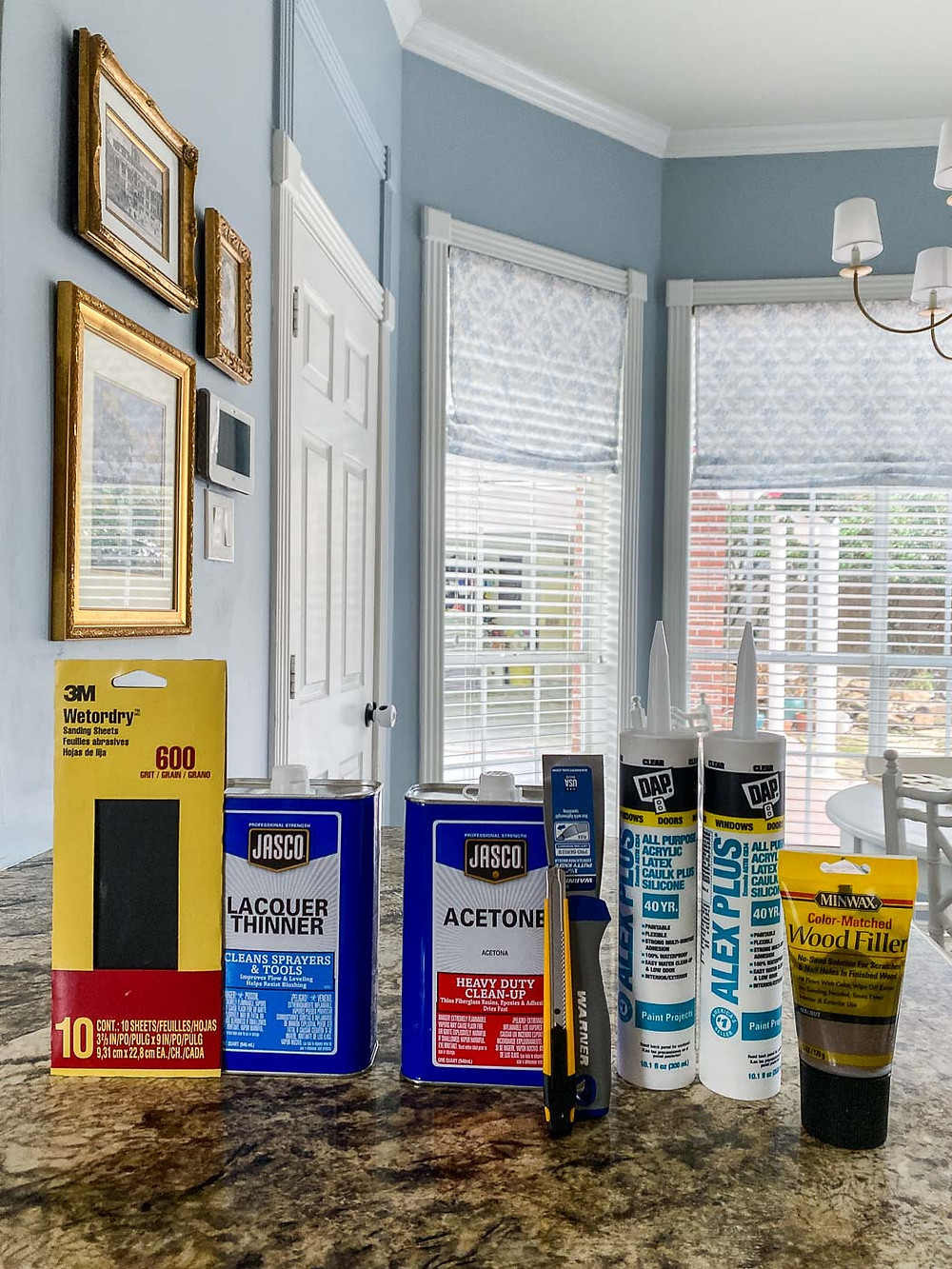 How to paint countertops to look like marble, giani paint kit