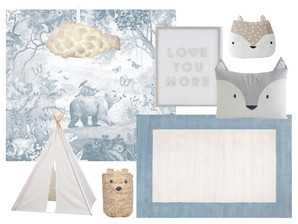 Lincoln's Big Boy Room- Before and Mood Board
