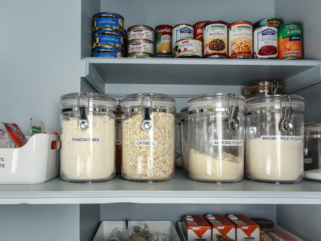 6 Tips for Organizing A Pantry With Deep Shelves