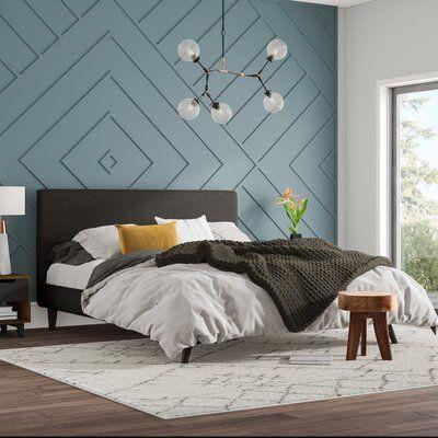 geometric wall molding design