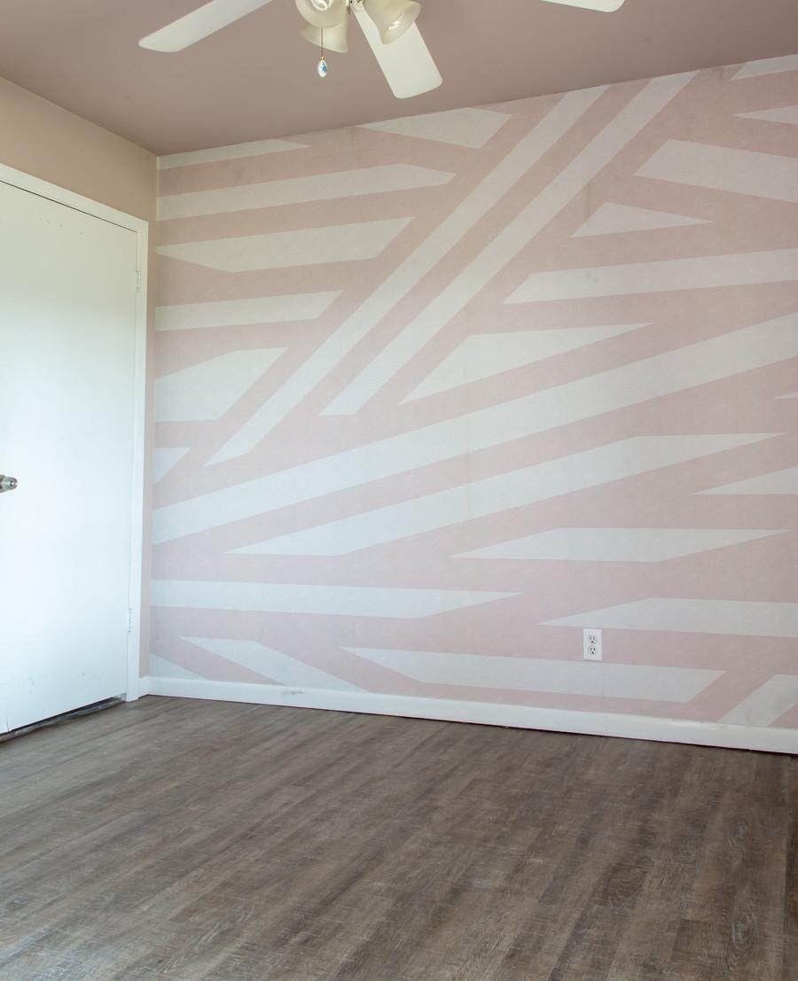 rebel walls sailor sea pink wallpaper