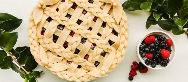 Sugar Free Triple Berry (razzleberry) pie