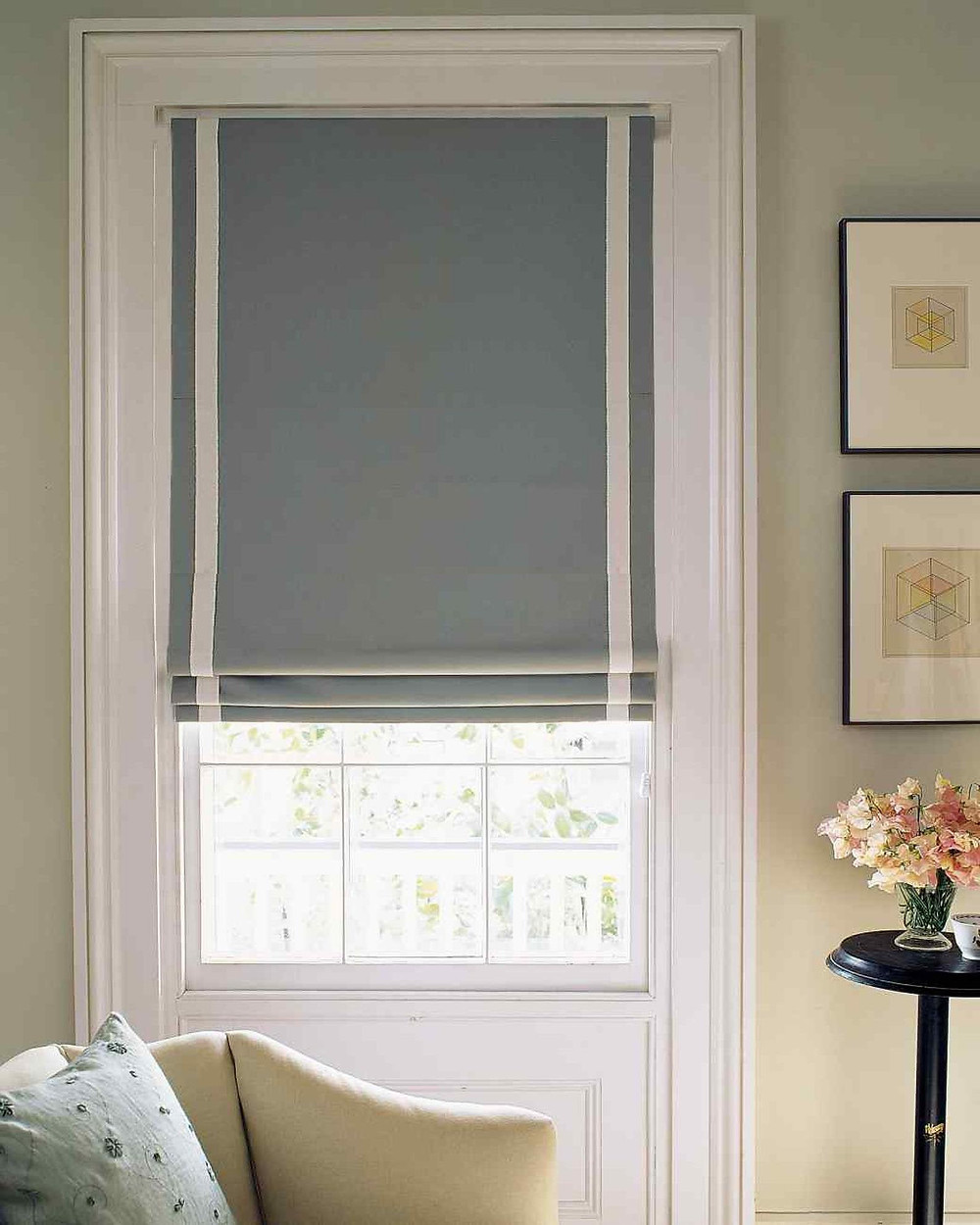 where to buy custom roman shades