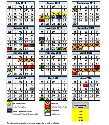 Dade Schools Calendar 2020 mysite